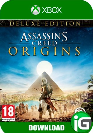 Assassin's Creed Origins Deluxe Edition - Xbox One