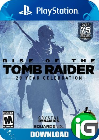 Rise Of Tomb Raider 20 Year Celebration - PS4
