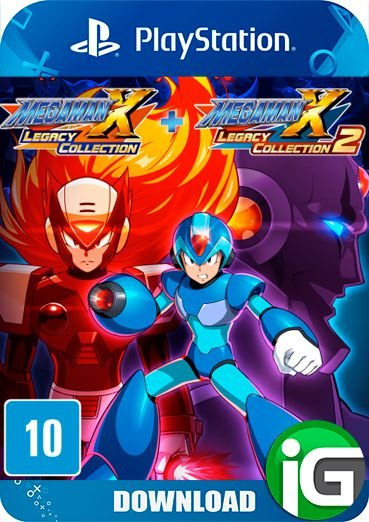 Mega Man X Legacy Collection 1+2 - PS4