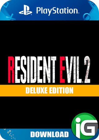 Resident Evil 2 Remak - Deluxe Edition - PS4