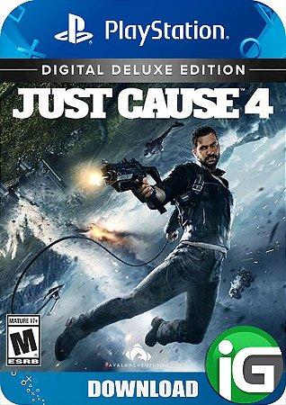 Just Cause 4 - Edição Deluxe - PS4