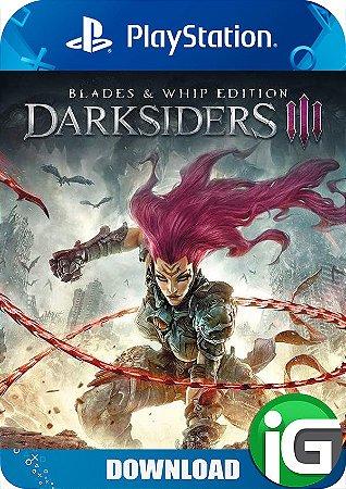 Darksiders 3 - Edição Blades & Whip - PS4