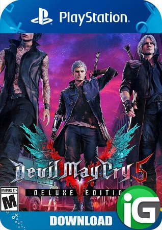 Devil May Cry 5 - Edição Deluxe - PS4