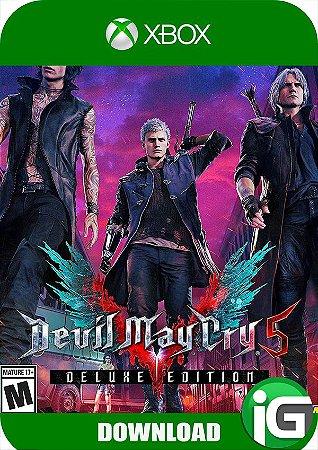 Devil May Cry 5 - Edição Deluxe - Xbox One