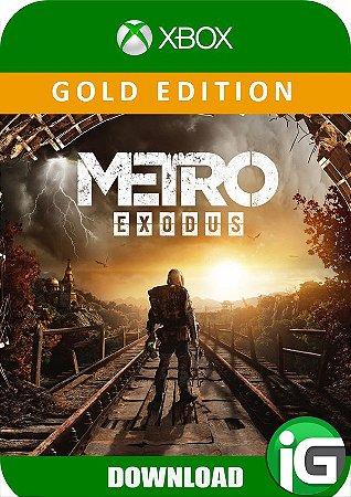 Metro Exodus - Edição Gold - Xbox One