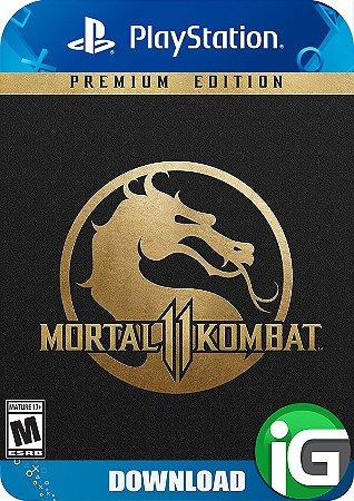 Mortal Kombat 11 - Edição Premium - PS4
