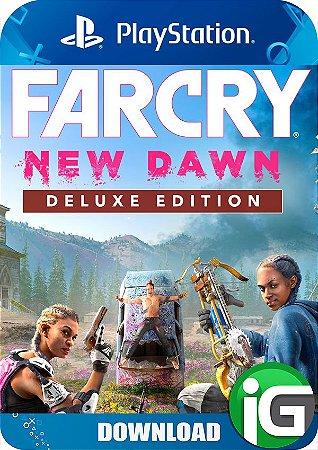 Far Cry New Dawn - Edição Deluxe - PS4