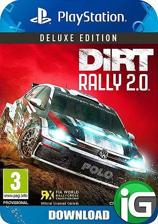 Dirt Rally 2.0 - Edição Deluxe - PS4