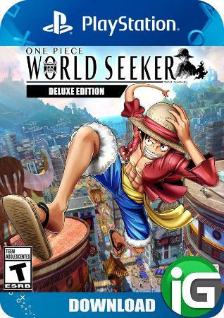 One Piece World Seeker - Edição Deluxe - PS