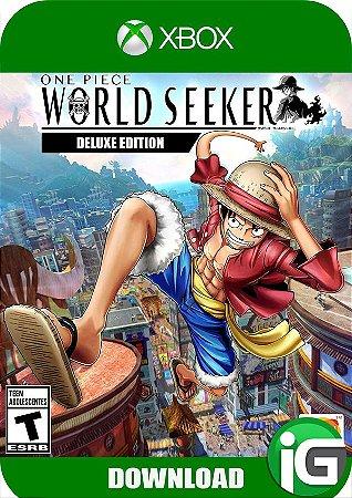 One Piece World Seeker - Edição Deluxe - Xbox One