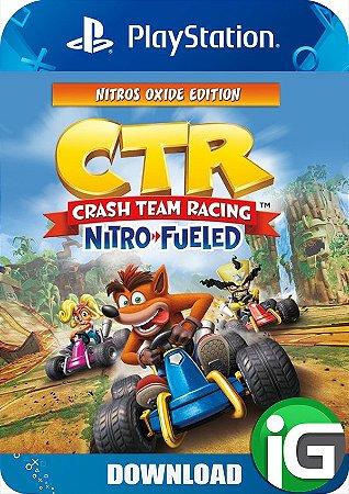 Crash Team Racing Nitro-Fueled - Edição Nitros Oxide - PS4
