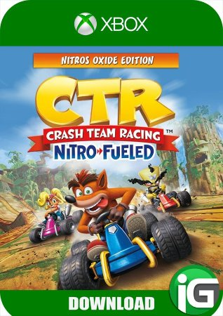 Crash Team Racing Nitro-Fueled - Nitros Oxide Edition - Xbox One