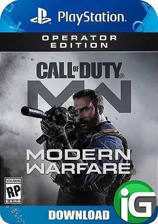 Call of Duty Modern Warfare - Operator Edition - PS4
