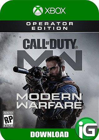 Call of Duty Modern Warfare - Operator Edition - Xbox One