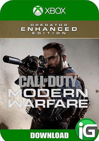 Call of Duty Modern Warfare - Operator Enhance Edition - Xbox