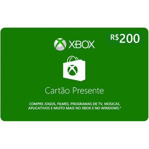 Pré Pago Xbox - R$ 200 (Leia a Descrição!)