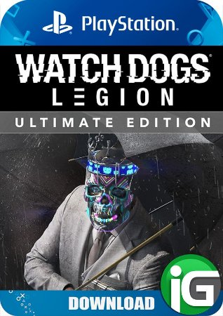 Watch Dogs Legion - Edição Ultimate - PS4