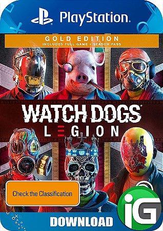 Watch Dogs Legion - Edição Gold - PS4