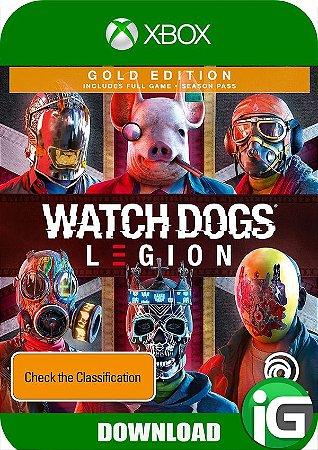 Watch Dogs Legion - Edição Gold - Xbox One