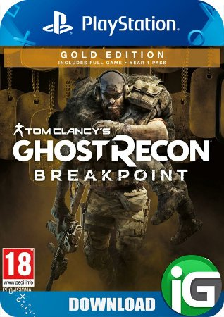 Tom Clancy's Ghost Recon Breakpoint - Edição Gold - PS4