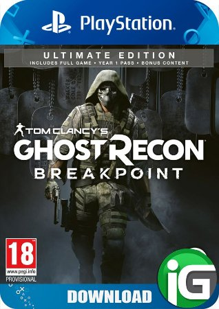 Tom Clancy's Ghost Recon Breakpoint - Edição Ultimate - PS4