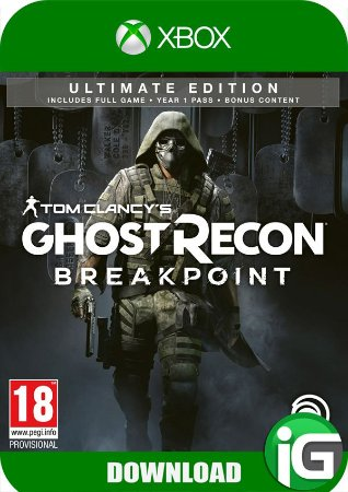 Tom Clancy's Ghost Recon Breakpoint - Edição Ultimate - Xbox One