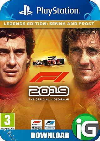 F1 2019 - Edição Legends - Ps4