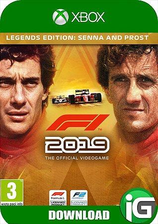 F1 2019 - Edição Legends - Xbox One