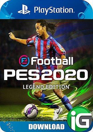 eFootball PES 2020 - Edição Legend - PS4