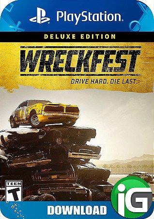 Wreckfest - Edição Deluxe - PS4