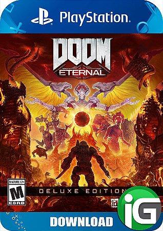 Doom Eternal - Edição Deluxe - PS4