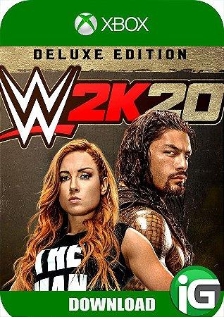 WWE 2K20 - Edição Deluxe - Xbox One