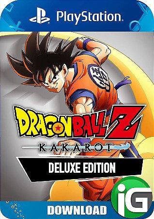 Dragon Ball Z Kakarot - Deluxe Edition - PS4