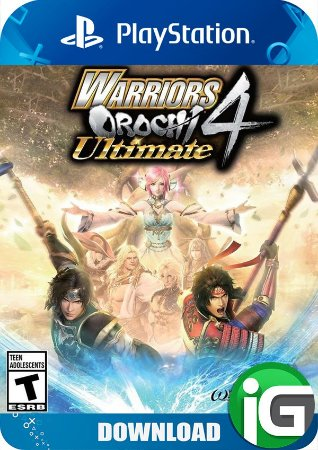 WARRIORS OROCHI 4 Ultimate with Bonus - PS4