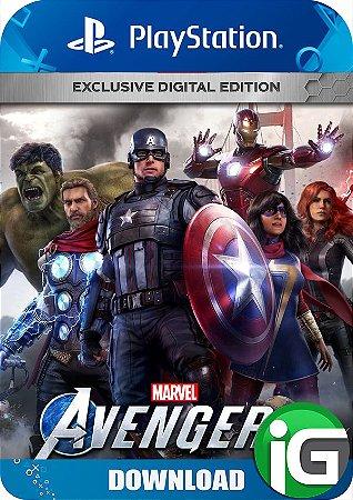 Marvel's Avengers - Edição Exclusiva - PS4