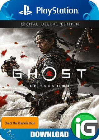Ghost of Tsushima - Edição Deluxe - PS4