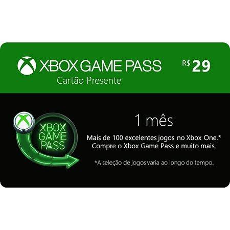 Pré-Pago Xbox Game Pass - 1 Mês (Leia a Descrição!)