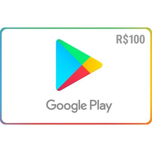 Pré-Pago Google Play - R$ 100 (Leia a Descrição!)