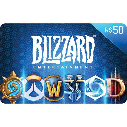 Pré-Pago Blizzard - R$ 50