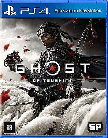 Ghost Of Tsushima PS4 Mídia Física