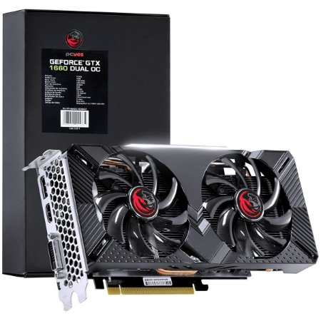 Black Box - Placa de Vídeo NVIDIA Geforce GTX 1660 Dual OC GDDR5 6GB 192 BITS Dual Fan - PP1660OC19206G5