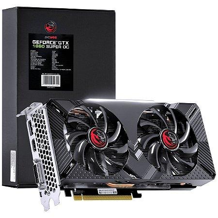 Placa de Vídeo NVIDIA Geforce GTX 1660 Super OC GDDR6 6GB