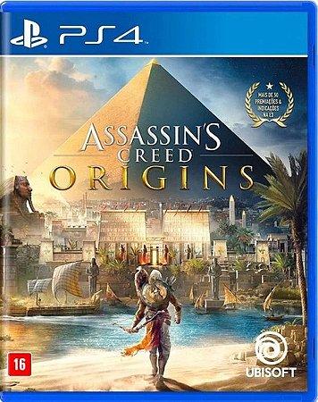 Assassin's Creed Origins PS4  Mídia Física