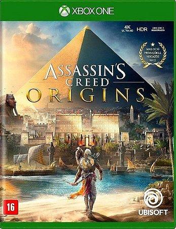 Assassin's Creed Origins Xbox One Mídia Física