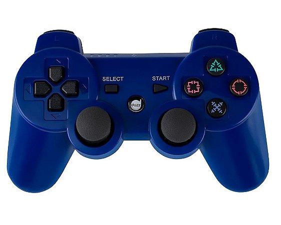 Joystick Dazz Dual Shock Wireless Azul - PS3