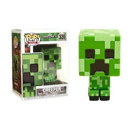 Boneco Creeper 320 Minecraft