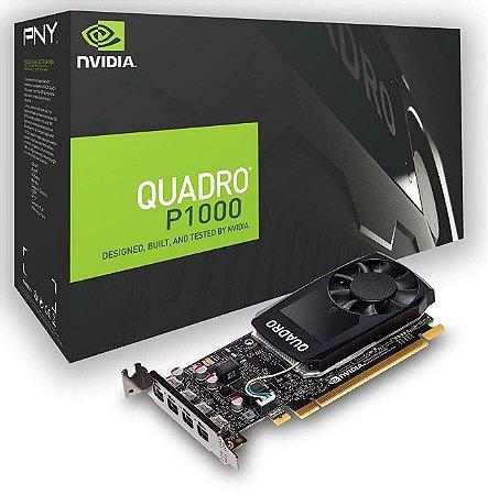 Placa de Vídeo PNY NVIDIA Quadro P1000 4GB GDDR5