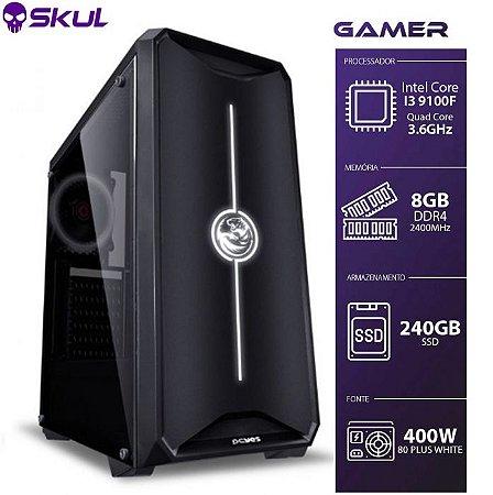 Computador Gamer 3000 I3 9100F 3.6GHZ Mem 8GB DDR4