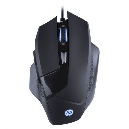 Mouse HP Gamer - G200 Black- Sensor Avago A3050 - 1000 / 4000 DPI