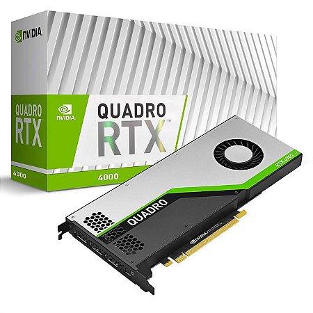 Placa de Vídeo Nvidia Quadro RTX 4000 8GB GDDR6 256 BITS